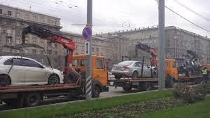 Стоимость эвакуации автомобилей в Москве пока остается прежней!